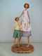 Mother and Son Figurine by Happy Hearts Collection Gift Idea Mothers Day